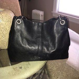 Simply Vera Wang Leather Hobo Bag. Good Condition!